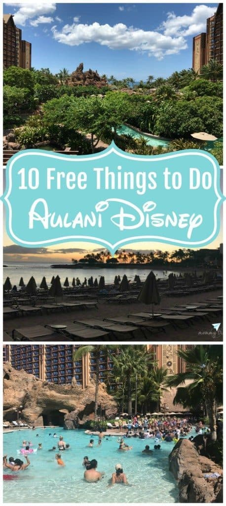 10 Free things to do at Aulani Disney