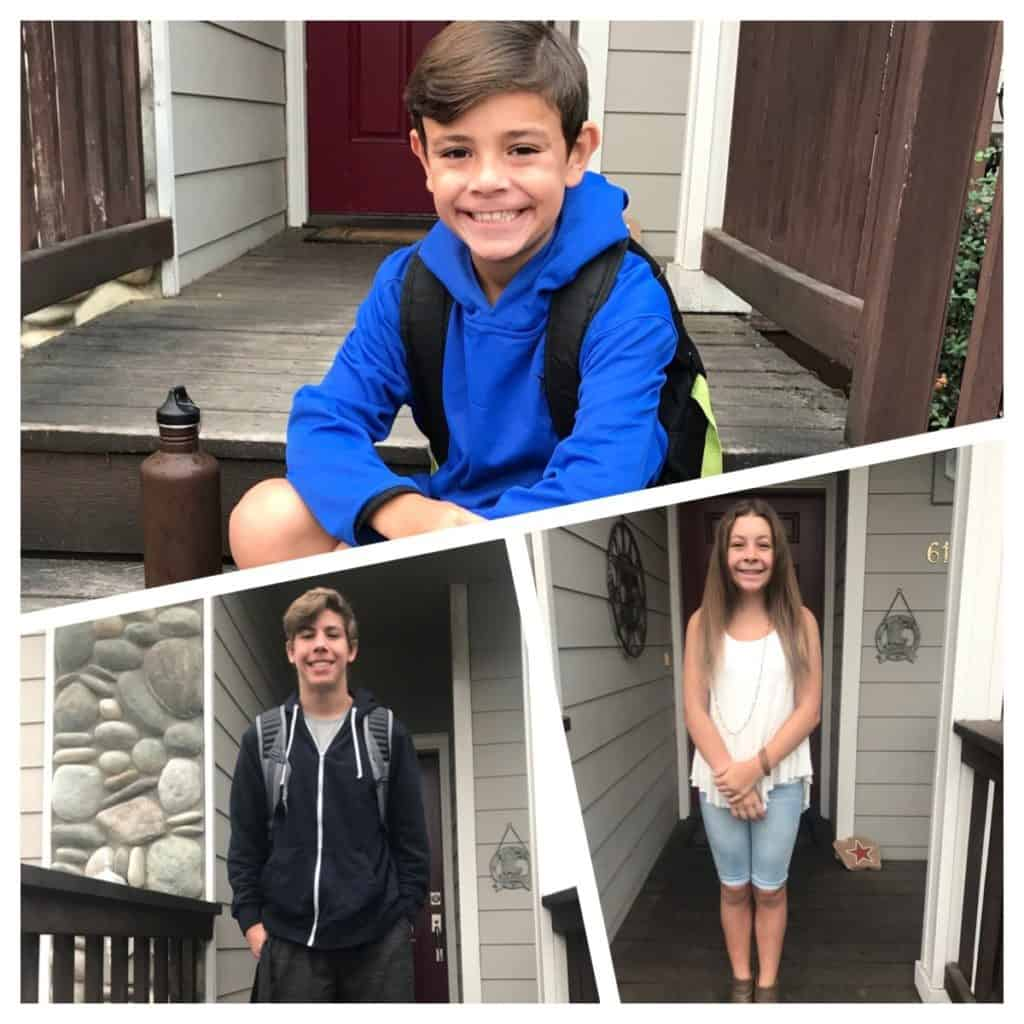 Kids first day of school 2017