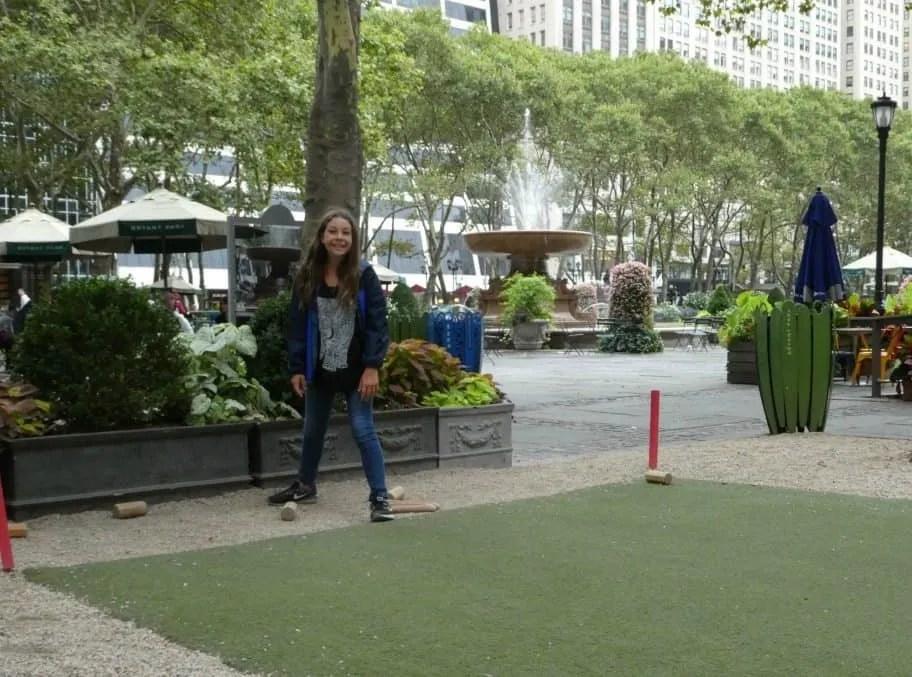 Bryant Park NYC