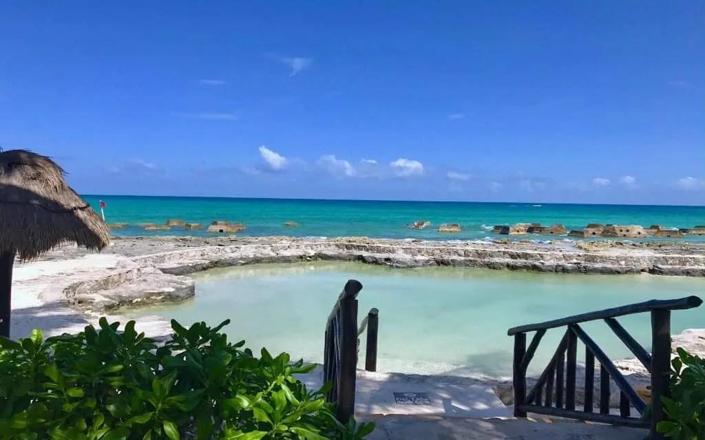 salt water pool at El Dorado Royale