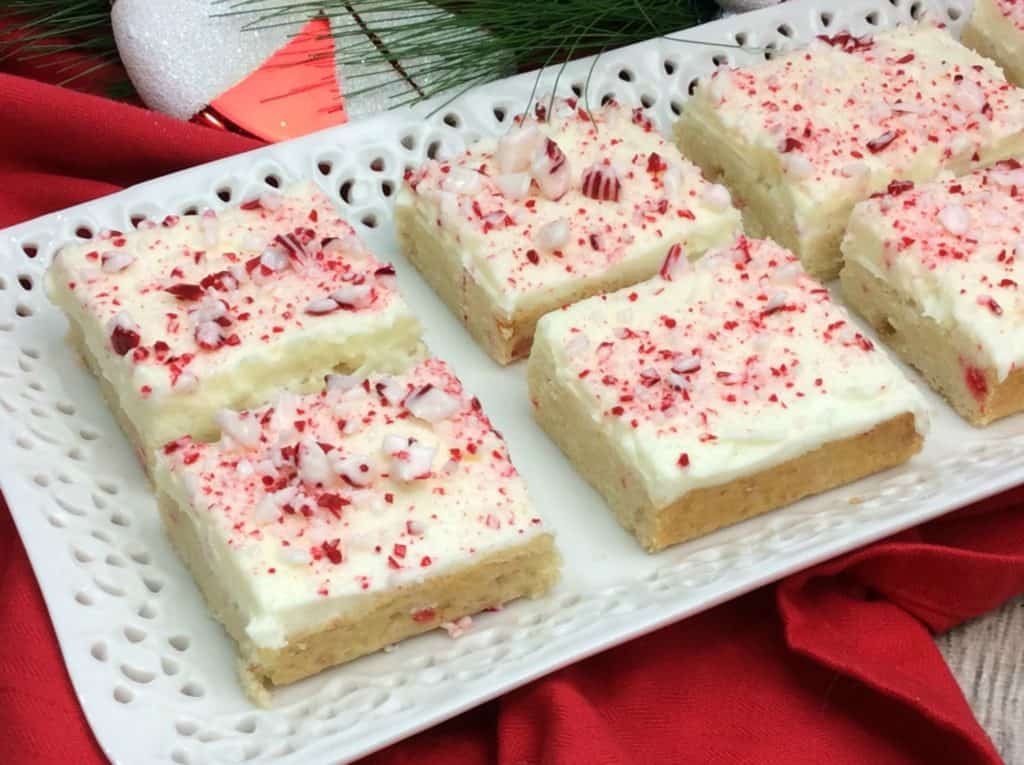 Candy Cane Bars