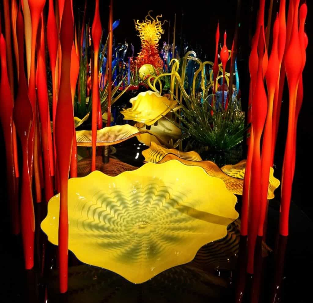 Chihuly Garden and Glass in Seattle
