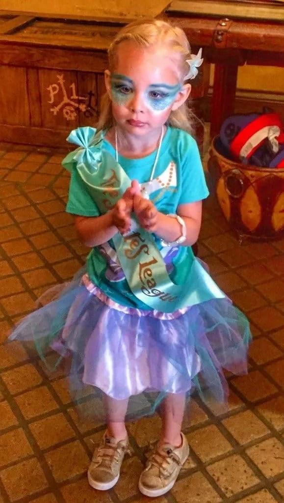 Disney Mermaid makeover