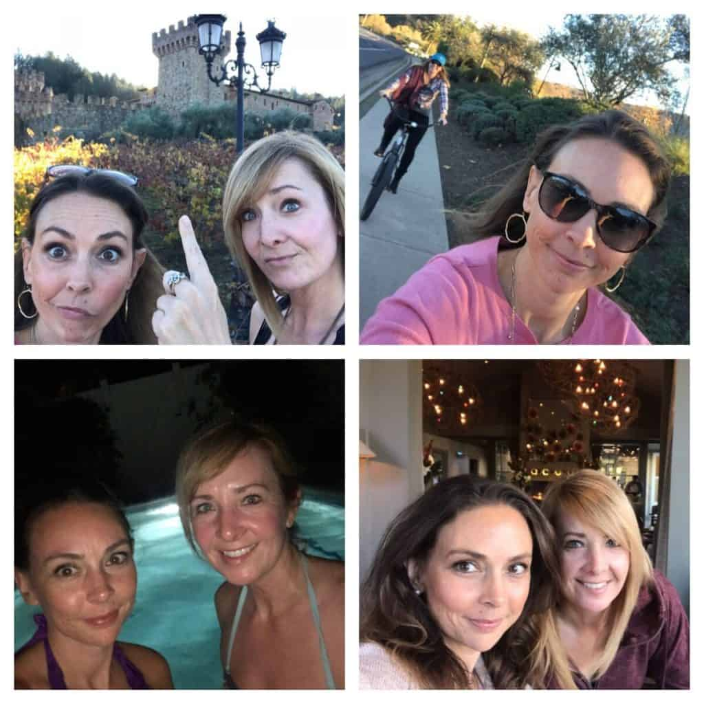 Girlfriends trip in Calistoga, California