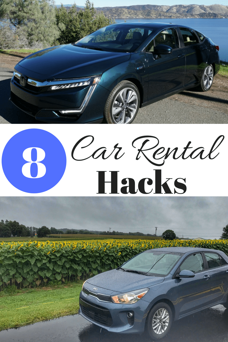 8 Car rental hacks to save you lots of money!