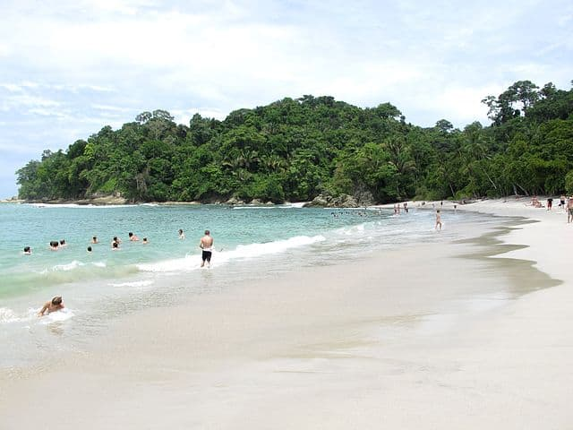 Manuel Antonio Beach in Costa Rica