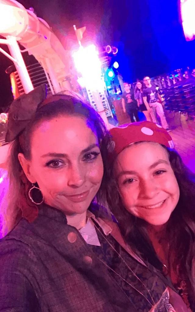 Pirate night on a Disney Cruise