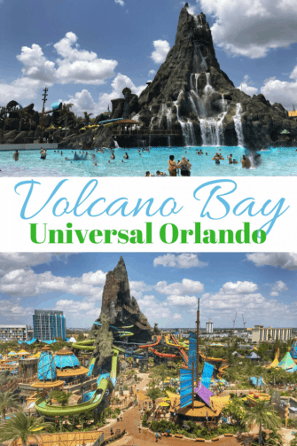 Volcano Bay water park at Universal Orlando