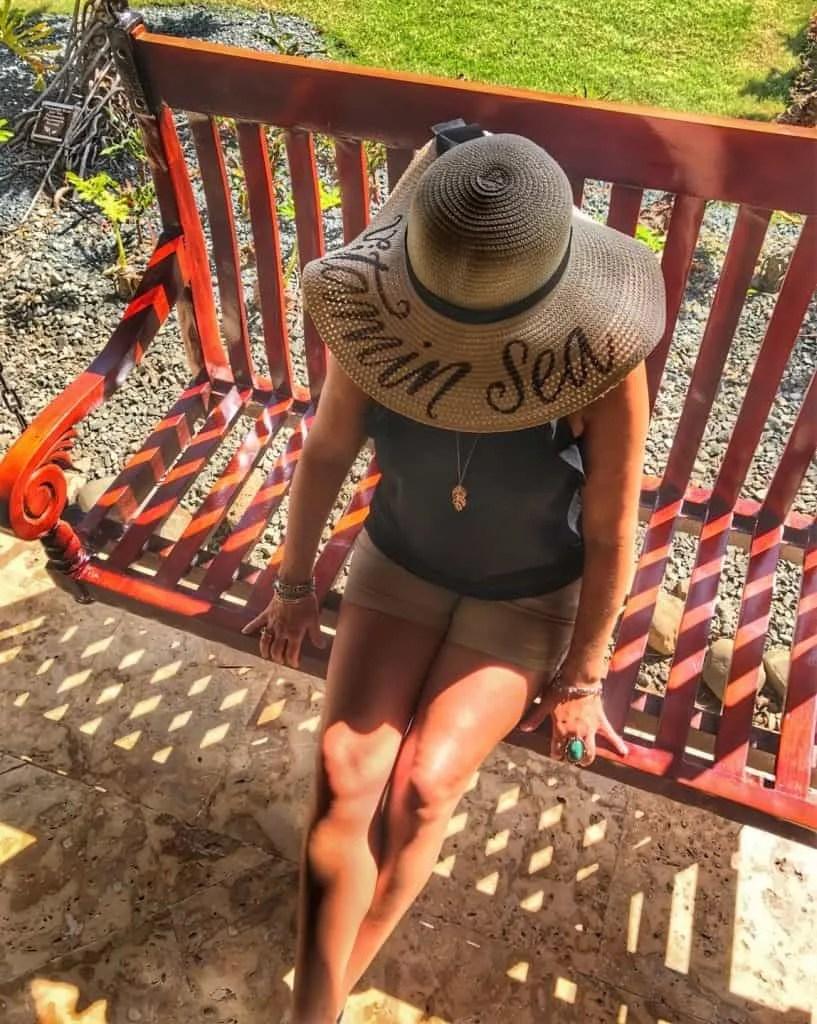 Vitamin Sea sun hat