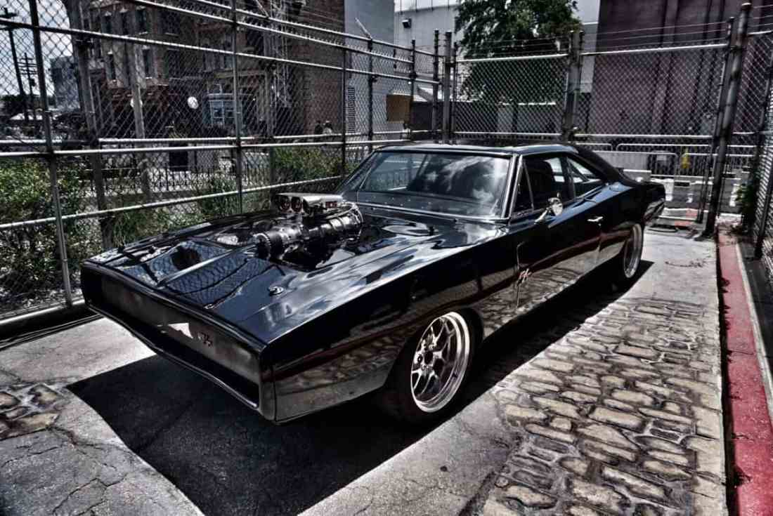 Dom's iconic 1970 Dodge Charger