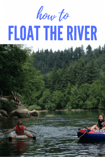 How to float the river