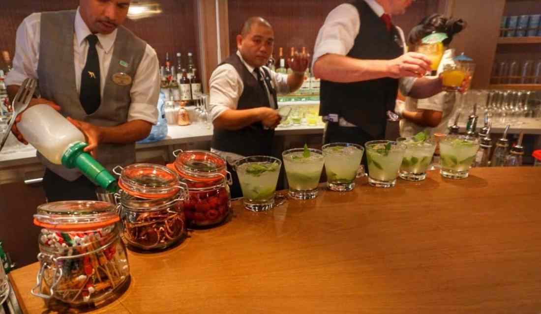 Sugarcane Mojito Bar on the Norwegian Bliss