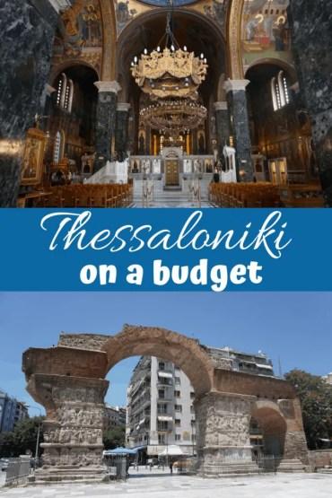 Thessaloniki on a budget