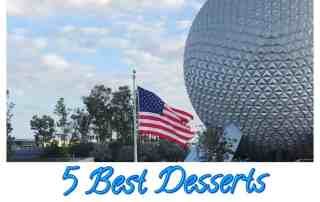 5 best desserts at Epcot