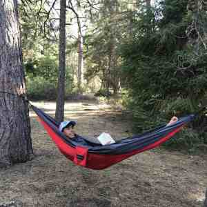 Lightweight travel Hammock