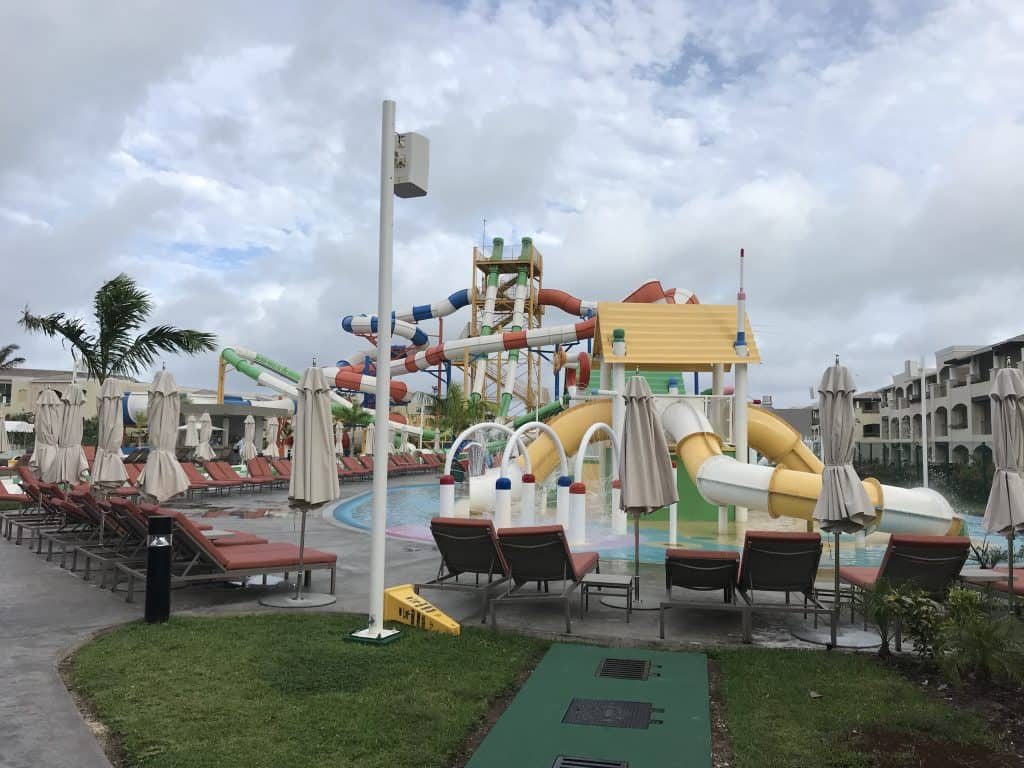 Water park at The Grand at Moon Palace