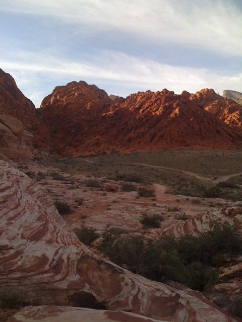 Calico Basin: Free hiking near Las Vegas