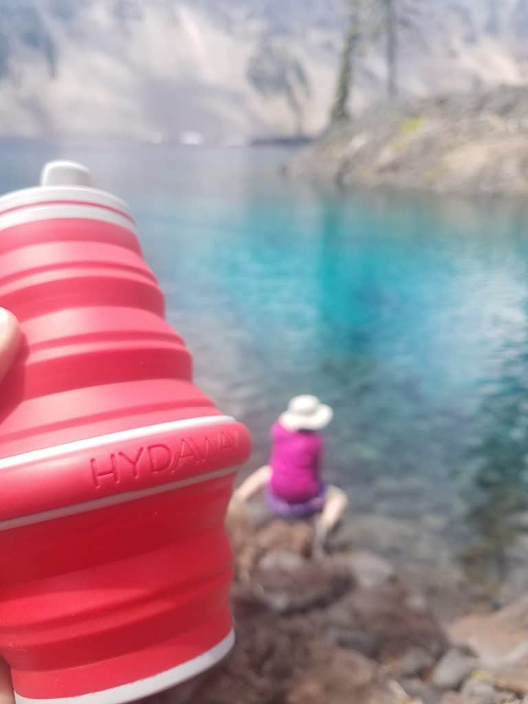 Hydeaway collapsible water bottle