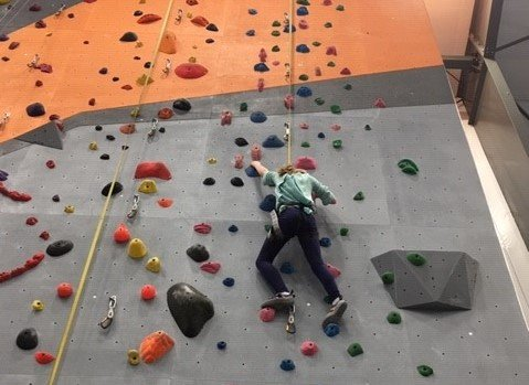 Steep World an indoor climbing place in Billings Montana