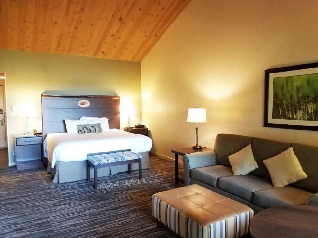 Salishan Resort room