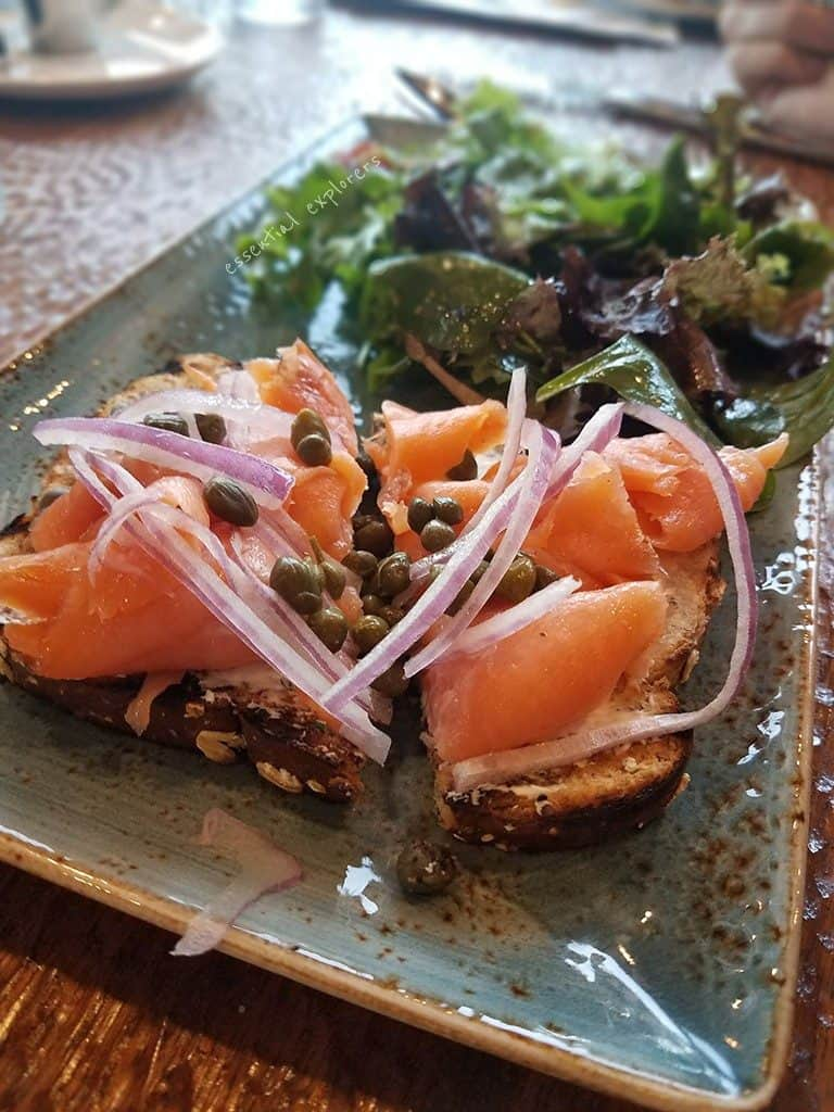 Salishan Resort serves seasonally fresh food like salmon