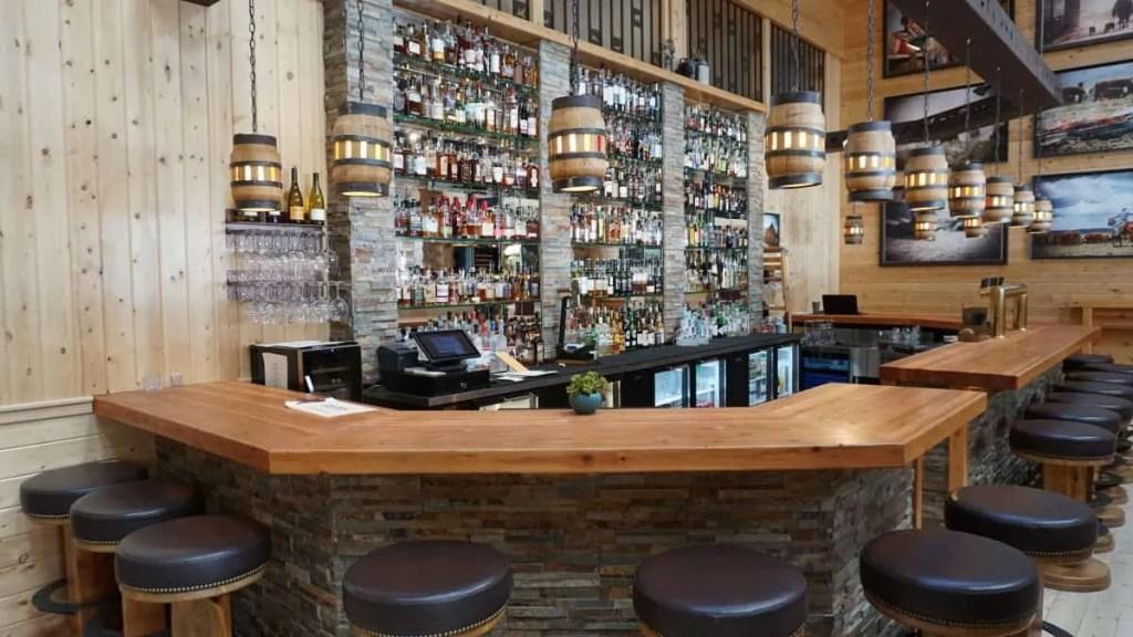 The bar at Silvies Valley Ranch