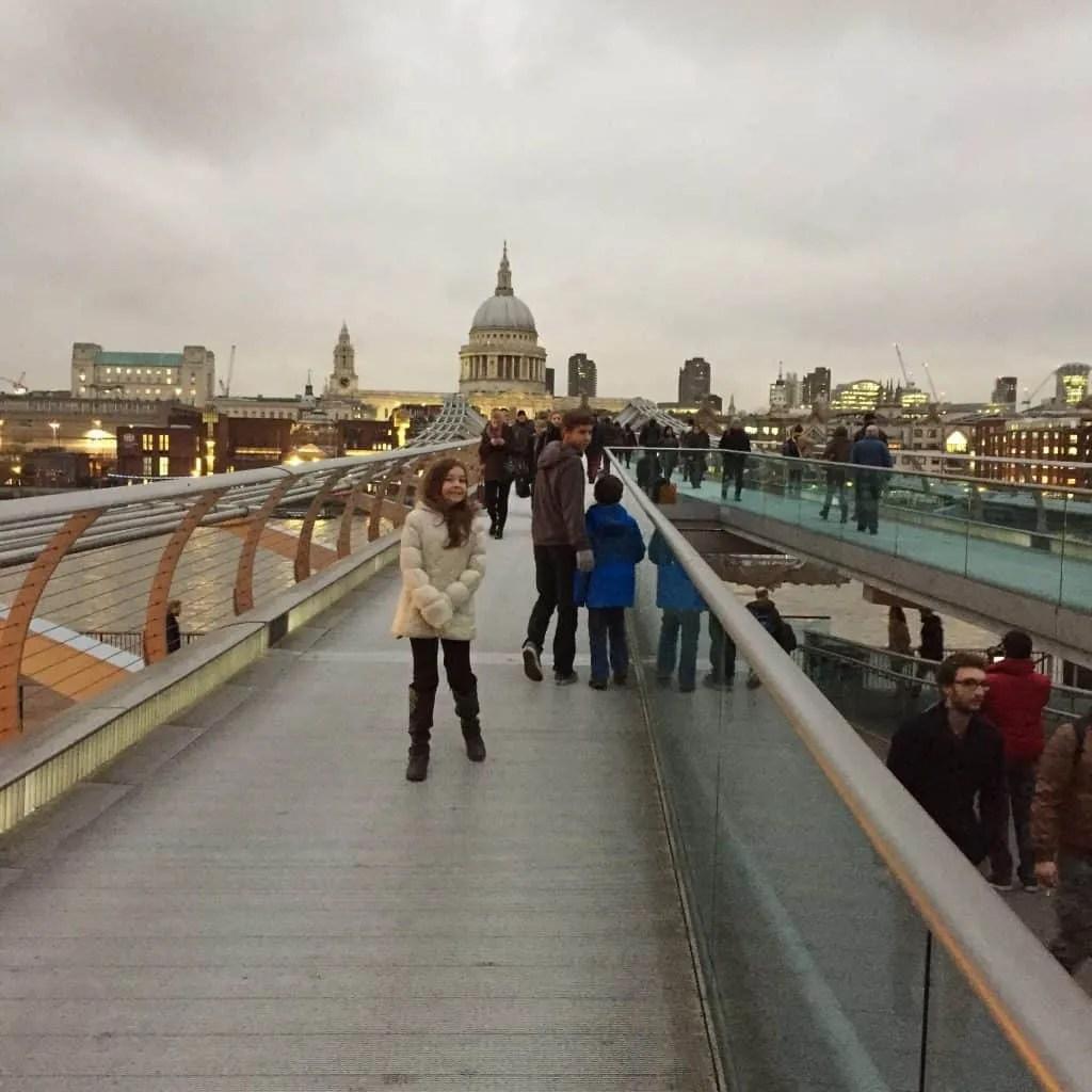 the London Millennium Footbridge