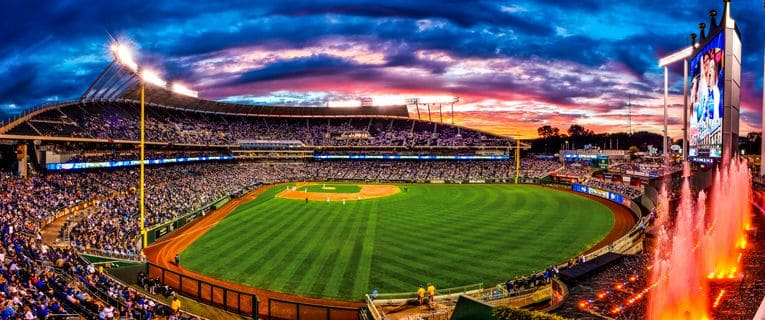 KAUFFMAN STADIUM-KANSAS CITY ROYALS