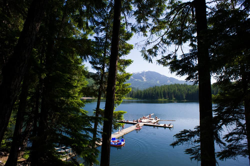 Lost Lake docks