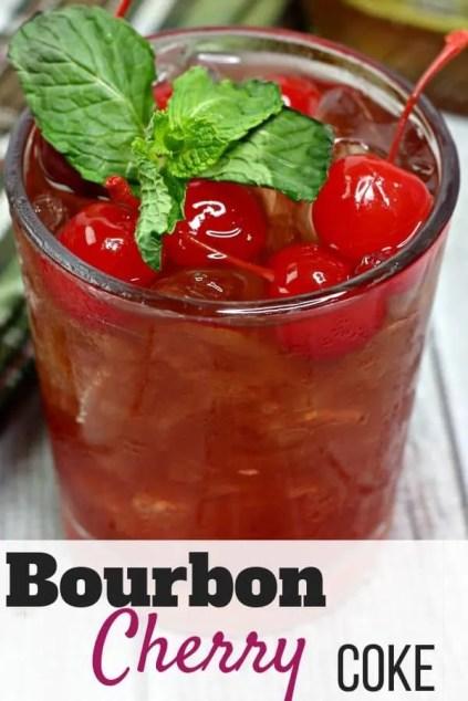 Bourbon Cherry Coke Cocktail recipe