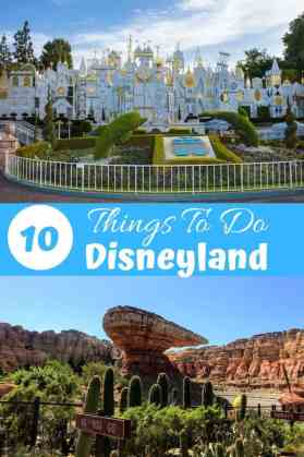 10 Things to do at Disneyland