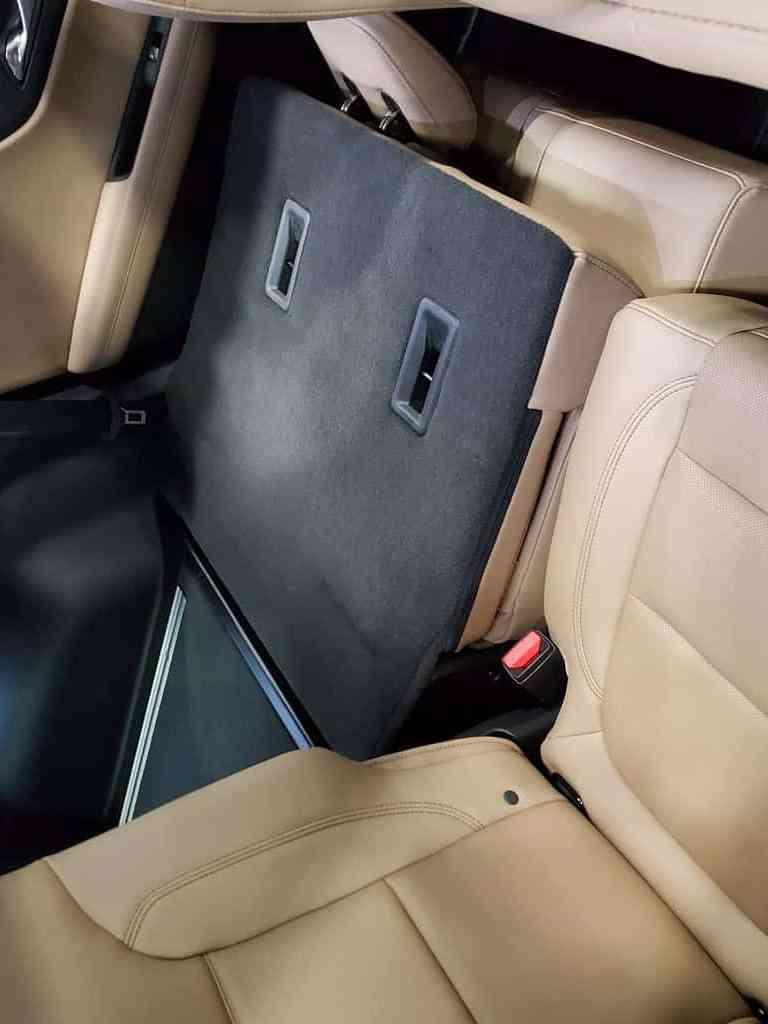 2020 Chevy Blazer back seat