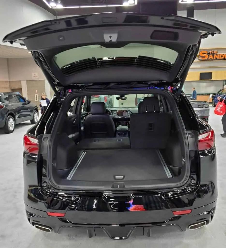 2020 Chevy Blazer cargo space