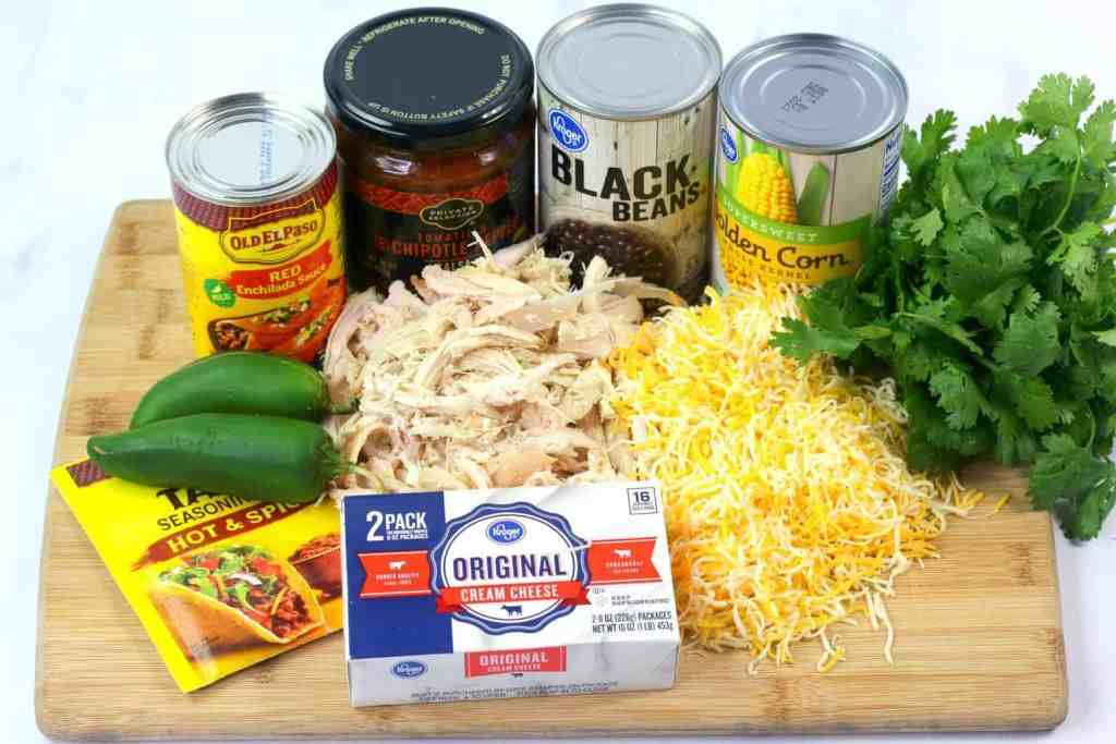 chicken enchilada dip recipe ingredients