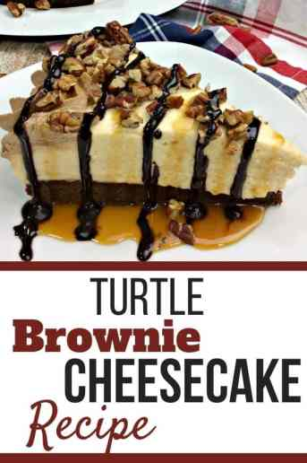 Turtle Brownie Cheesecake Recipe