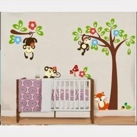 Creating a Wonderful Art Wall For Baby Rooms