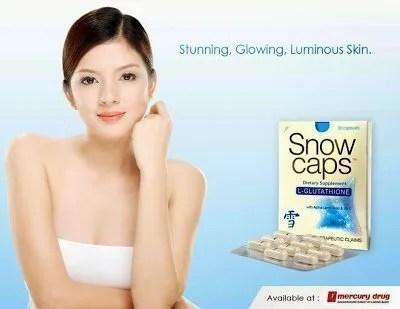 {Fabulous Fridays} Get Whiter Fairer Skin With SnowCaps Premium Glutathione