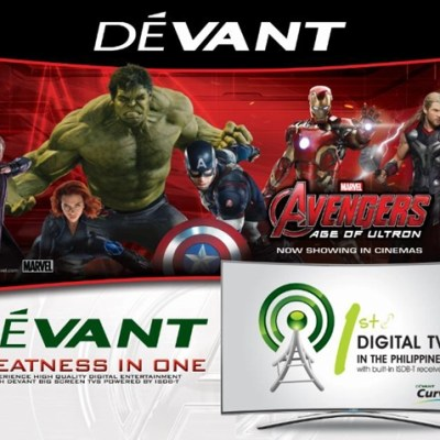 #DEVANTxAvengers: DEVANT and Marvel's Avengers: Age of Ultron bring Greatness in One