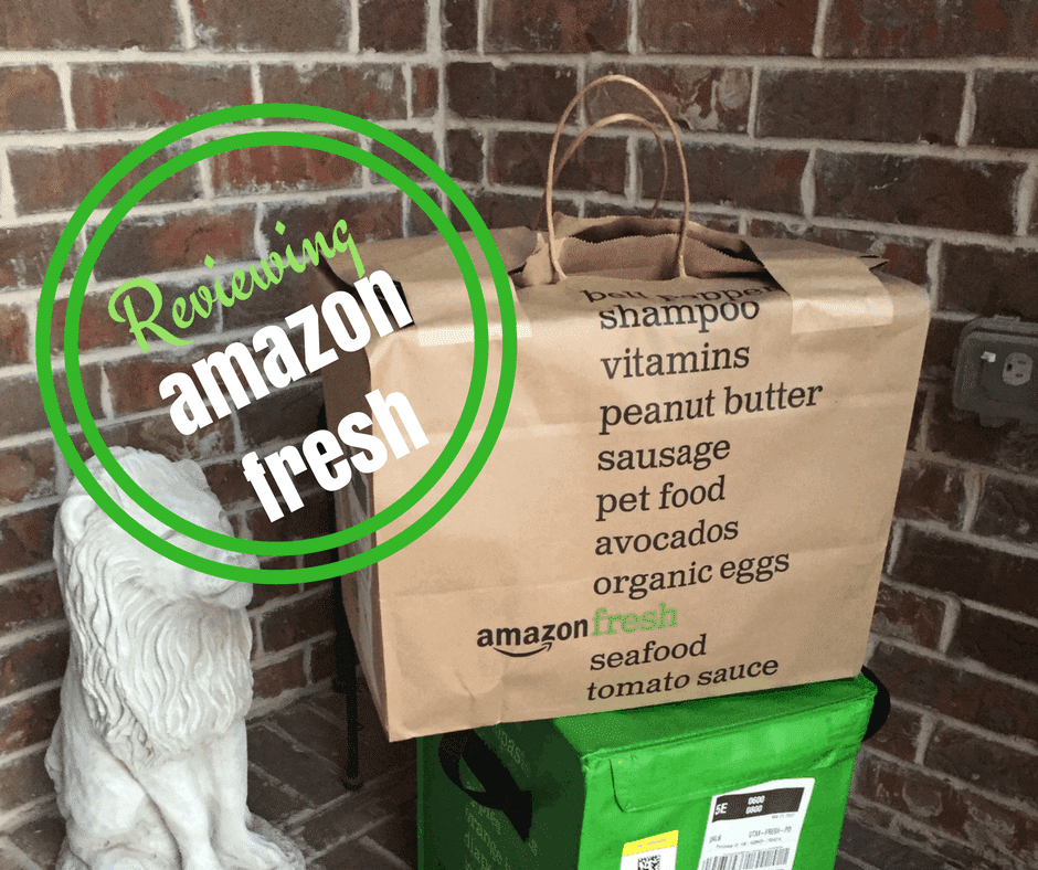 My experience with Amazon Fresh Grocery Delivery