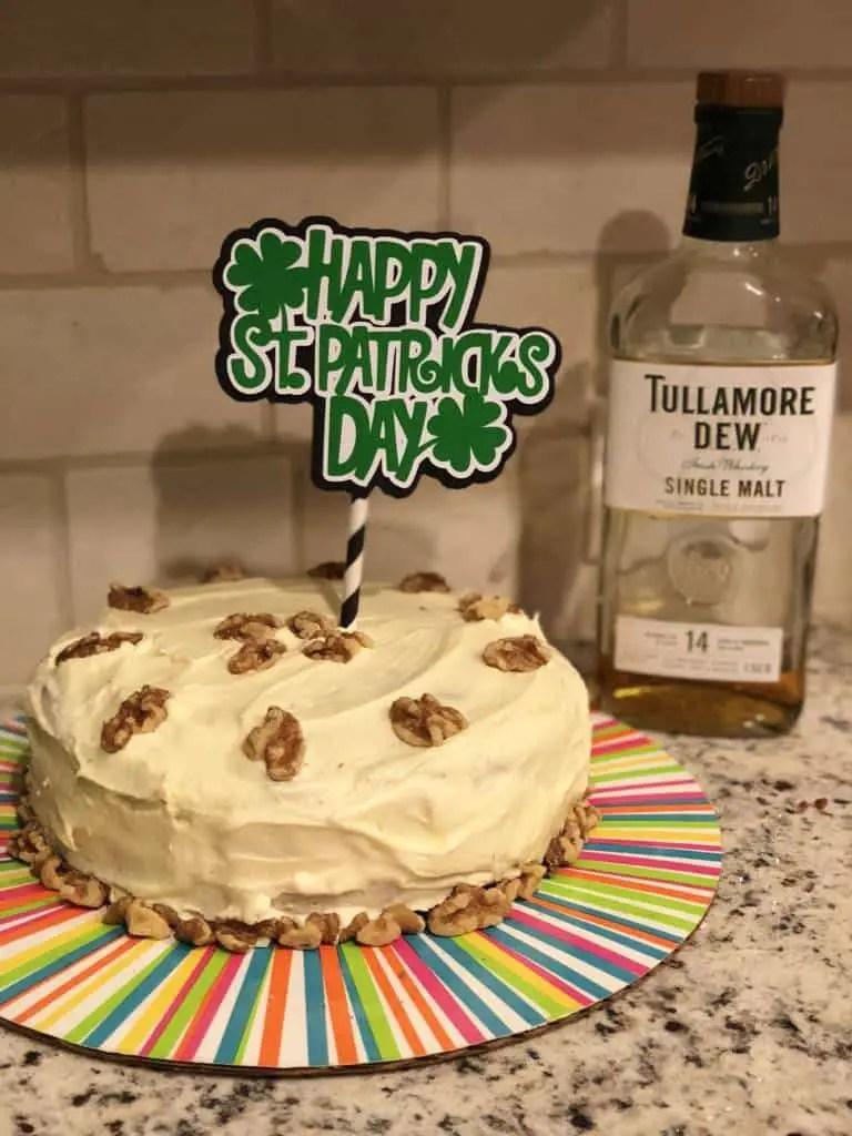Tullamore Dew Whiskey Cake