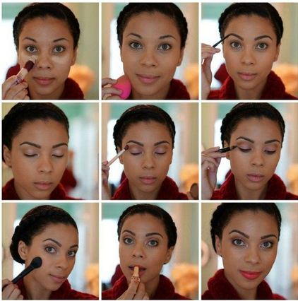 stunning natural look makeup  simple stepstep
