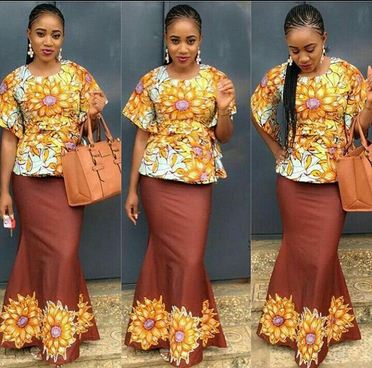 Latest African And Nigerian Ankara Styles Trends 2018 2019 For Skirt September