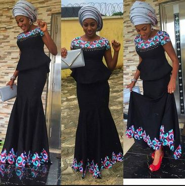 The Most Fashionable Ankara Styles Skirt Blouse You Should Try