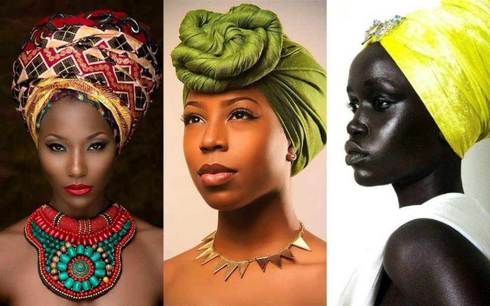 Step By Step On How To Tie African Style Turban Momo Africa