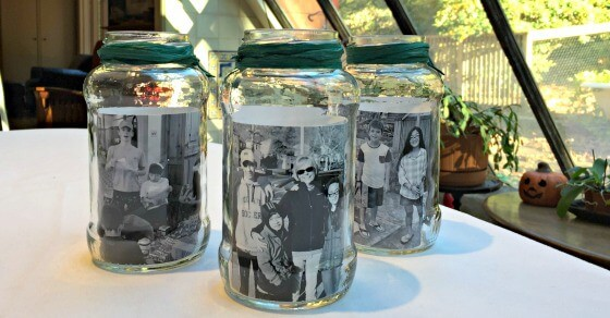 Mason Jar Photo Centerpieces  MomOf6