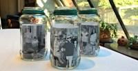 Mason Jar Photo Centerpieces - MomOf6