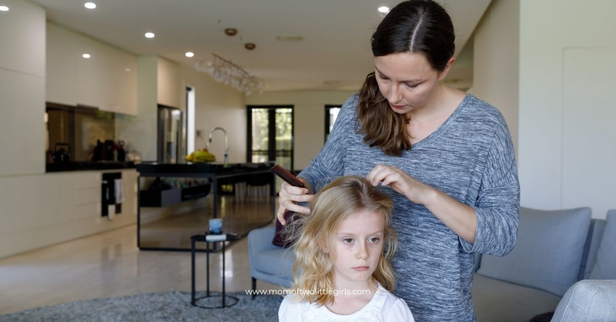 10 steps to get rid of head lice