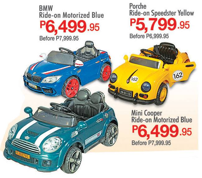 S&R Battery-operated Cars