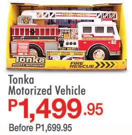 S&R Tonka Motorized Vehicle