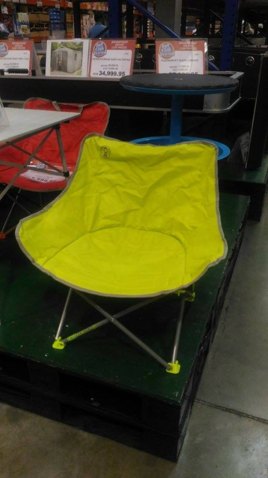 Coleman Foldable Chairs